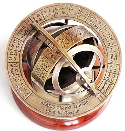 Brass Armillary Sphere Astrolabe