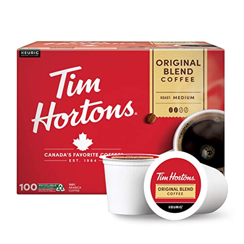 Capsulas Keurig marca Tim Hortons