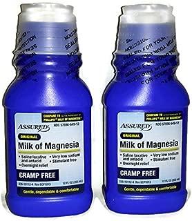 Original, Cramp Free, Milk of Magnesia (Pack of 2) - 12 fl oz