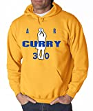 Shedd Shirts Gold Curry Golden State AIR Hooded Sweatshirt Youth