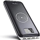KEDRON Batterie Externes 24000mAh Chargeur sans Fil Rapide Chargeur à Induction avec...