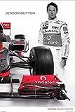 Close Up Mclaren Mercedes Poster Jenson Button (61cm x