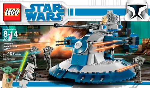 8018 Star Wars Armored Assault Tank ( AAT ) with Yoda