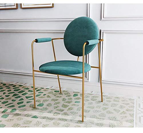 LGFSG Esstisch und Stühle Leichte Esstisch und Stuhl Kombination postmodernen minimalistischen Esstisch 6 Personen Esstisch Möbel, 4 Stück Stühle