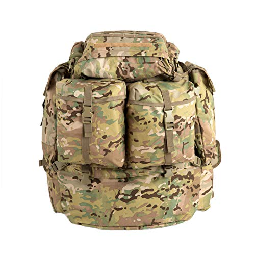 US Military Tactical Backpack FILBE Rucksack with Frame and Waist Straps Multicam