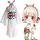 MSSJ Juego Onmyoji Cosplay Disfraz de Conejo de montaña Disfraz de Cosplay Kimono Halloween Carnaval Fiesta Cosplay Disfraz XL