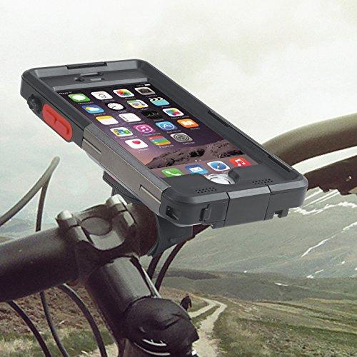 TiGRA Sport iPhone6s 自転車 バイク ホルダー 防水 防塵 耐衝撃 指紋認証 ARMOR GUARD for iPhone6/6s【ア...