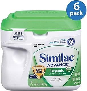 Similac Advance Organic Infant Formula Powder, 1.