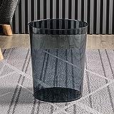 Cubo de Basura Transparente Luz para el hogar Bote de Basura de...