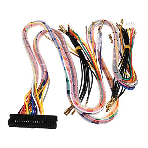 C-FUNN bedrading harnas kabel vervangende onderdelen assembleren voor Arcade Jamma Board Machine Game Console