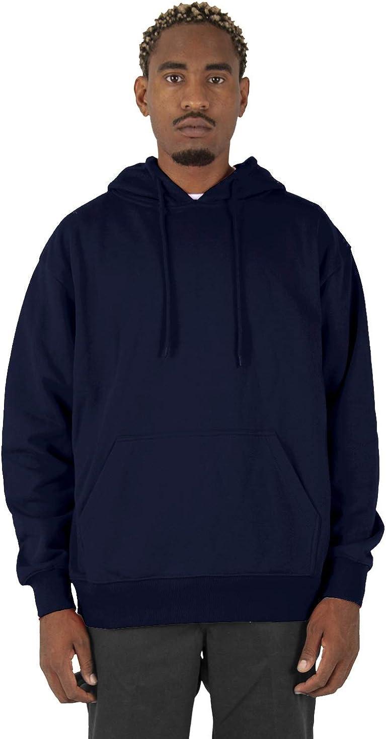 Shaka Wear Mens Men's Hoodie Sweatshirt – Heavyweight Long Sleeve Fleece Soft Warm Casual Hooded Pullover Sweater Top