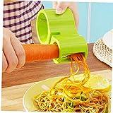 Angoter Spiralizer Espiral máquina de Cortar el calabacín Espagueti pastas espirales Fabricante Cortador pelador de Verduras Novedades para la Cocina Cortador Peeler