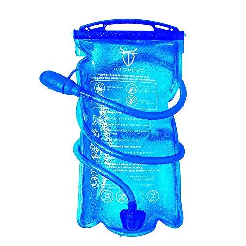 UTOBEST ハイドレーション 水袋 広口 給水リザーバー ウォーターキャリー 水分補給 防災用 1L 1.5L 2L 3L ハイキング 登山 サイクリング ランニング (3L)
