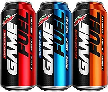 12-Pack Mountain Dew Game Fuel 3 Flavor 16 oz. Variety Pack