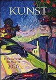 Kunst Wochen-Kulturkalender. Wandkalender 2020. Wochenkalendarium. Spiralbindung. Format 25 x 35,5 cm - Harenberg