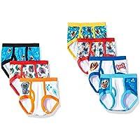 7-Pack Disney Boys' Toddler Puppy Pals Underwear Briefs