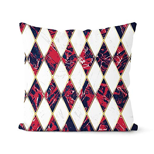 PPMP Funda de con diseño Tribal geométrico con Elementos étnicos africanos Funda de cojín para el hogar Funda de para sofá A14 45x45cm