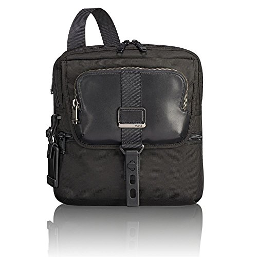 TUMI - Alpha Bravo Arnold Zip Flap Crossbody Bag - Messenger Bag for Men and Women - Black