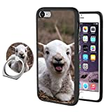 iPhone 7 Plus 8 Plus Goat Case with Ring Holder Stand Cellphone 360 Degree Rotating Ring Holder Kickstand Drop Protective Cover for iPhone 7 Plus 8 Plus