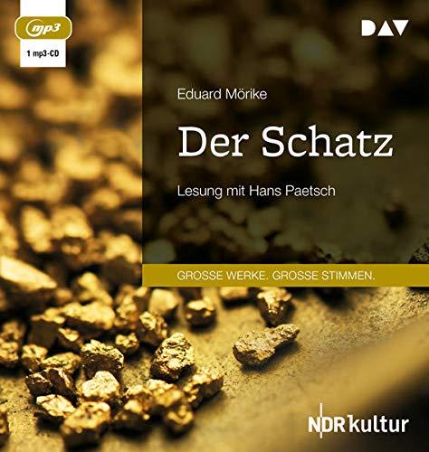 Der Schatz: Lesung mit Hans Paetsch (1 mp3-CD)