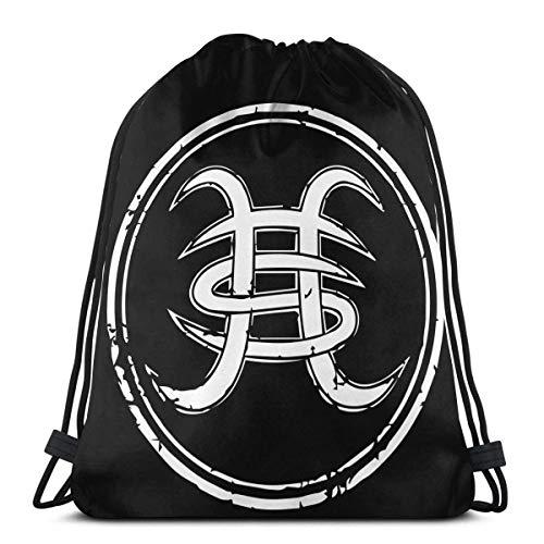 Hdadwy Mochila con cordón Heroes del Silencio Logo Poster Bolsas de Asas Originales para Gimnasio Senderismo Viajes Playa