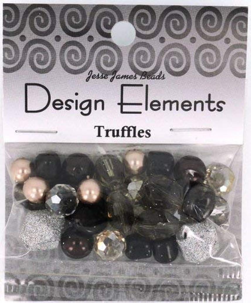 Jesse James Beads 5916 Design Elements Truffles, Multicolored