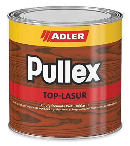ADLER Pullex Top-Lasur - 2,5 L Afzelia - Tropfgehemmte Holzlasur in Profi-Qualität für Holz außen - Lasur in verschiedenen Holzfarbtönen