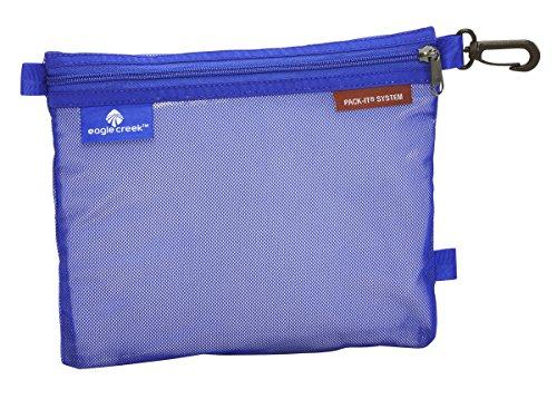 Eagle Creek Pack-It Original Sac platzsparende Packlösung mit Clip Wasserabweisender Kulturbeutel, M, blau