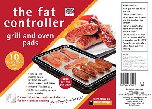 Toastabags Fat Controller, 10Stück, für gesünderes Kochen