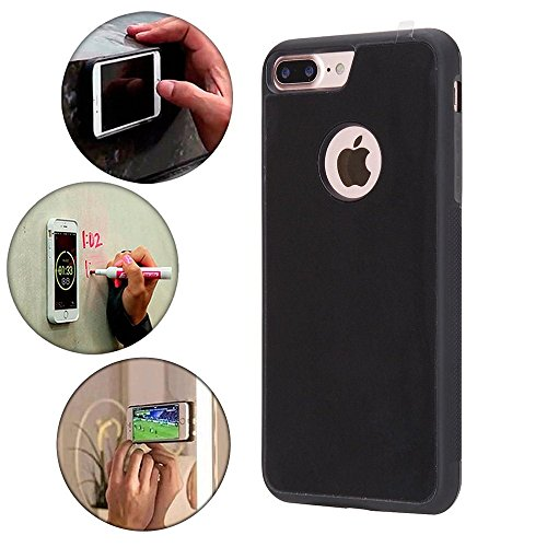 Anti Gravity Mobile Phone Case for iPhone 7 Plus/8 Plus, Hands Free Nano Suction Material, Stick on all plane