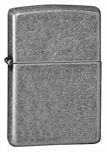 Zippo Antique Silver Encendedor, Metal, Cromo, Única