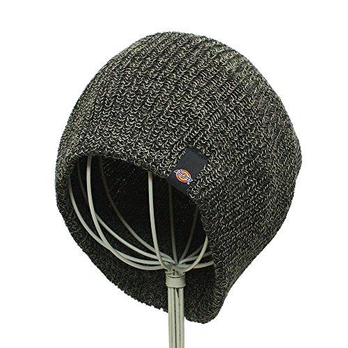 Dickies Men's Marled Khaki/Black Slouch Knit Beanie
