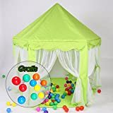 Aquagart Kinderzelt Kinderspielzelt inklusive 10 Spielbällen Spielzelt Bällebad Prinzessinnenzelt...