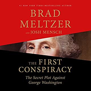The First Conspiracy audiobook cover art