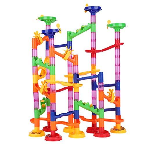 Rail Race Marble Run montagnes russes Construction 5.5 m Kit Enfants Jeu