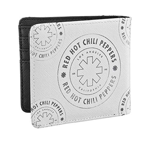 Red Hot Chili Peppers Brieftasche Asterisk Outline Band Logo offiziell Weiß