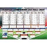 Close Up EM Spielplan 2021 Fußball Englische Version
