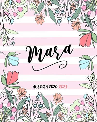 Mara  AGENDA 2020-2021: Diario personalizzato, planner settimanale Giugno 2020 - Dicembre 2021 con spazi GRATITUDINE e frasi motivazionali.