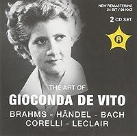 Gioconda Da Vito Violine by Brahms (2011-06-16)