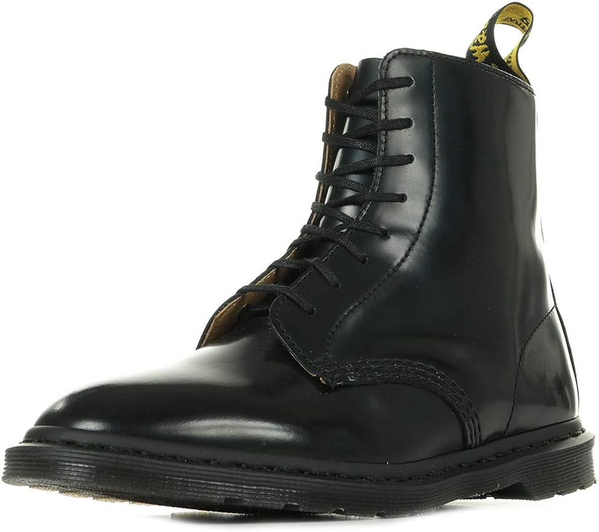待望 Mens Dr Martens Winchester II Closed 着後レビューで 送料無料 Polished Smooth Leather Toe