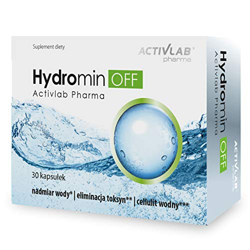 Activlab Hydromin Off Package of 1 x 30 Capsules – Nettle - Green Tea and Dandelion - Purification