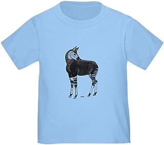 CafePress Okapi Animal Cute Toddler T-Shirt, 100% Cotton