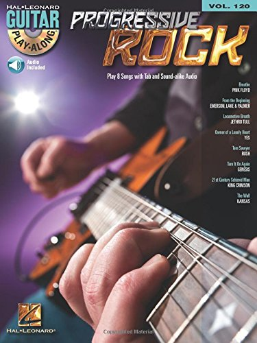 Progressive Rock: Guitar Play-Along Volume 120 (Play Along Book & CD)