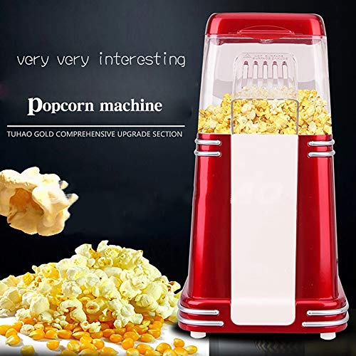 Great Features Of ZUEN Popcorn Machine American Double Popcorn Machine for Home Party Air Popcorn Ma...