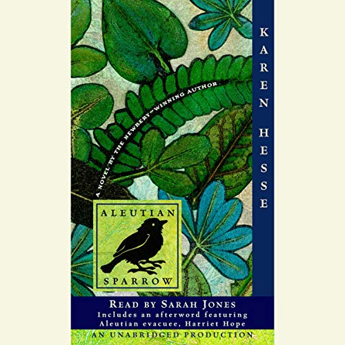 Aleutian Sparrow audiobook cover art