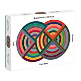 """750 PIECE PUZZLE: The 750-piece, 28. 3"""" x 21"""" colorful jigsaw puzzle is just the right level of challenge for a few days of activity and perfect for families to complete together. The unique flawless fit jigsaw puzzle makes a great gift. SHAPED PUZZL..."""
