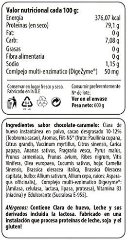 Max Protein Claras Deshidratadas Egg Proteína Huevo - 600 gr
