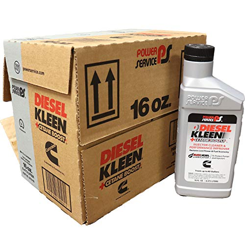 Power Service 3016-09 Diesel Kleen+Cetane Boost, 16 Fluid Ounces, 9 Pack