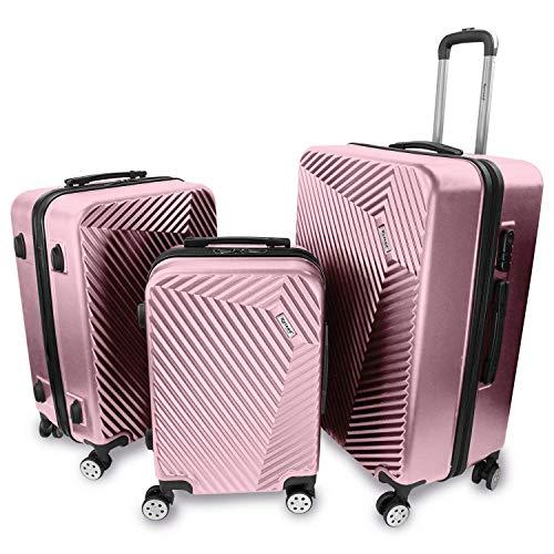 3er Koffer Set | 3-er Trolley-Set | 3...