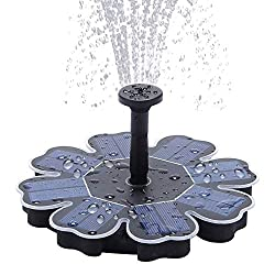 Richarm Solar Fountain Pump - Top 10 Best Solar Pond Pumps